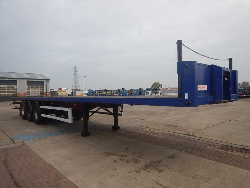 Montracon 45FT PSK FLATBED TRAILER - 1999 - C024125