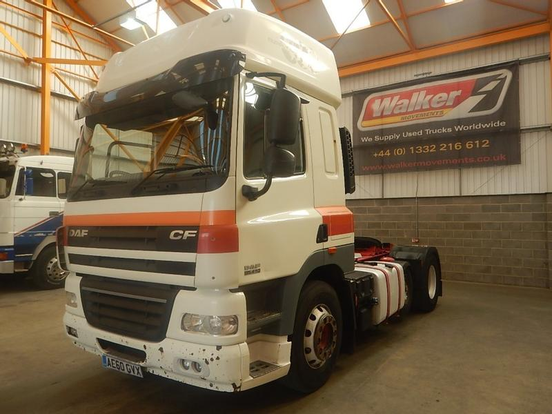 Daf CF85 410 EURO 5, 6 X 2 FTP SPACE CAB TRACTOR UNIT - 2011 - AE60 GVX
