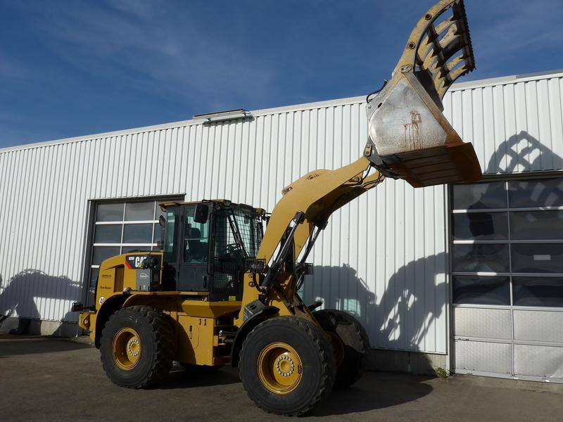 Caterpillar 928HZ Original 2.870h SW 40km/h 3.Kreis 16to.