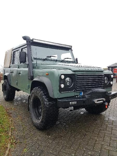 DEFENDER 2007 2.4 turbo diesel