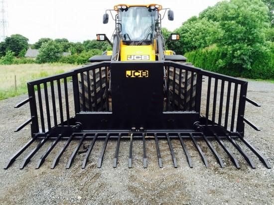 JCB 2016 New & Unused Albutt 14ft Hydraulic folding Buckrake