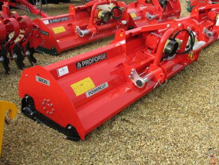 PROFORGE POWERCUT 320 Perugini Heavy Duty Flail Mower, 3.2 metre, New,
