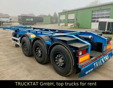 "Sonstige 20"" Tank Containerchassis ADR, Liftachse"