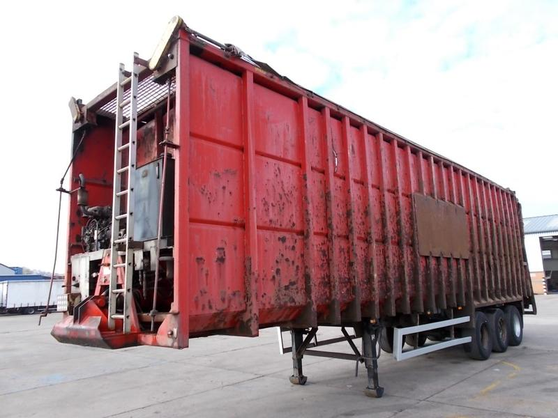 BMI 110 CU-YD STEEL EJECTOR TRAILER - 2008 - C271034