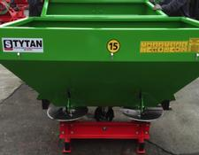 Strumyk Duengerstreuer 800l Tytan/Double disc fertilizer spreader/Разбрасыватель удобрений/Abonadora/Rozsiewacz nawozów