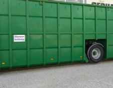 Stapel 55m³ Feldrandcontainer Biogas Gülle Container