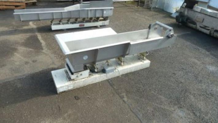 Stainless steel, Wright, vibrating conveyors. Choice of 4.