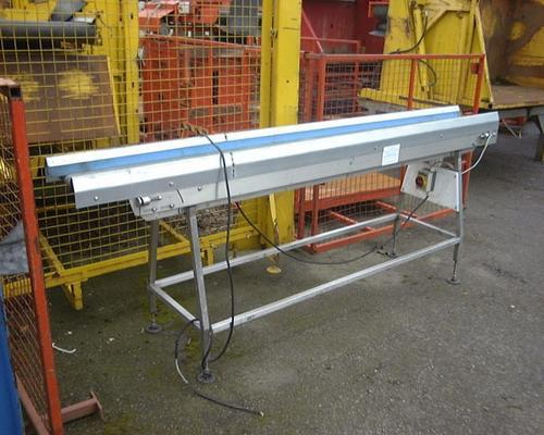 Part stainless steel conveyor 10' x 12""