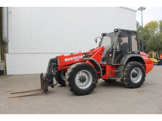 Manitou MLA628 Turbo Powershift 6 Speed Telewiellader