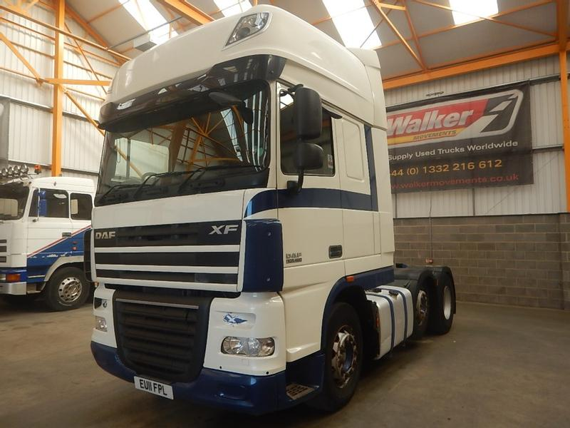 Daf XF105 460 SUPERSPACE EURO 5, 6 X 2 TRACTOR UNIT - 2011 - EU11 FPL