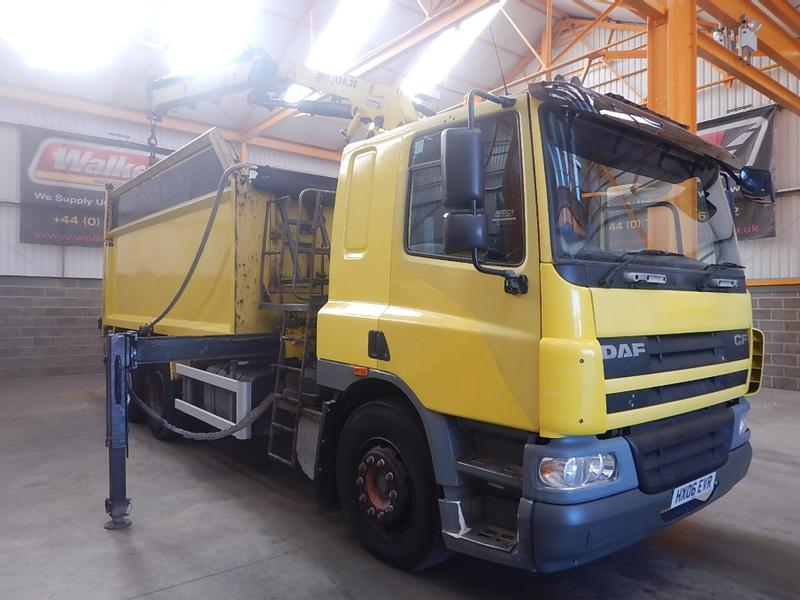 Daf CF75 310 6 X 2 TIPPER /CRANE - 2006 HX06 EVR (Export Only)