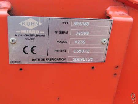 Kuhn XM36 DISCOVER Disc Harrows, 4.3 metre, 2008, Rear Crumbler