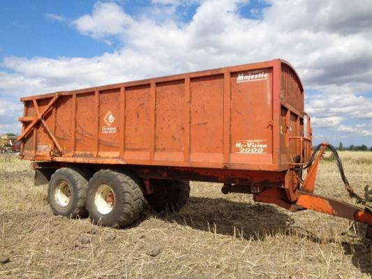Used Larrington Majestic 16T Trailer