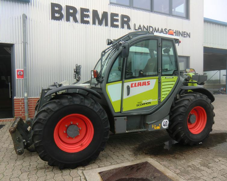 Claas SCORPION 7045, 40 km/h, VARIPOWER PLUS