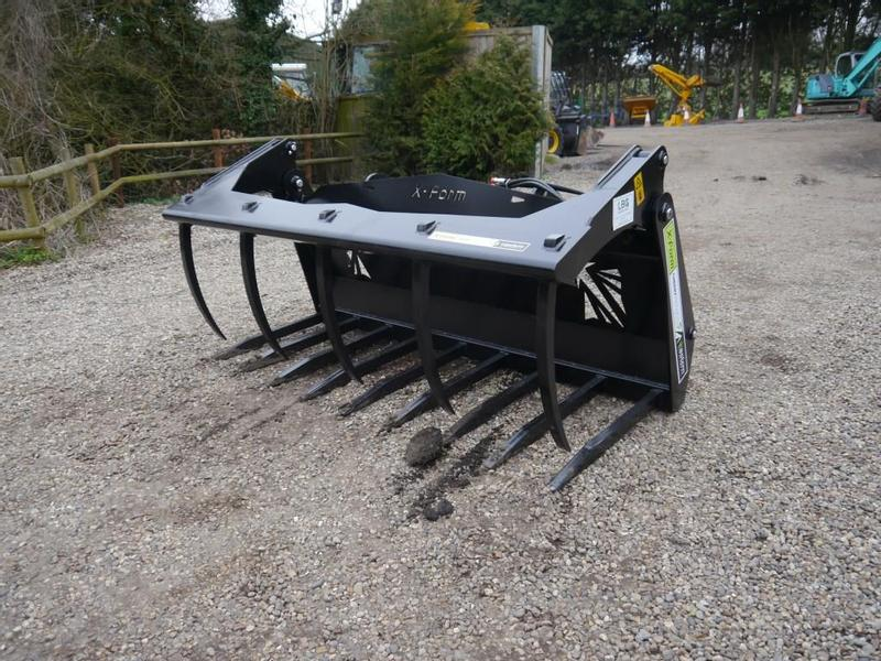Eastern Attachments JCB Q-Fit Muck Grab