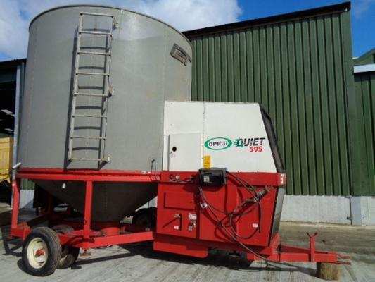 Used Opico 595QF Quiet 12T Grain Drier