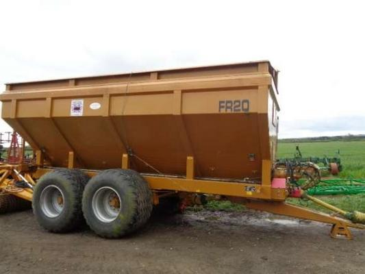 Used Richard Western FR16 Chaser Bin