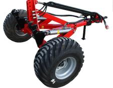 AWEMAK ATOS single axle for transporting machines
